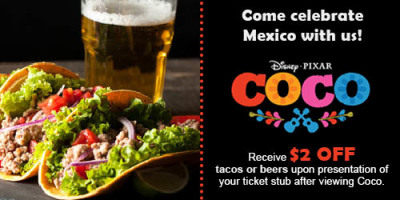 Disney's Coco film restaurant ad (1/2)
