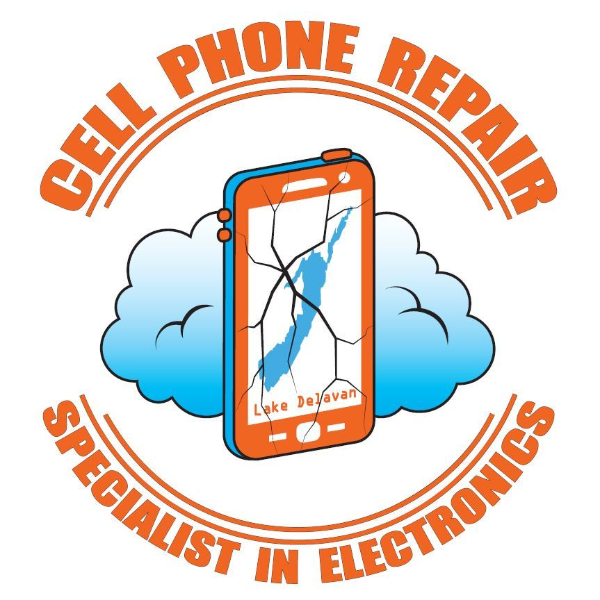 Cell Phone Repair Logo - Delevan