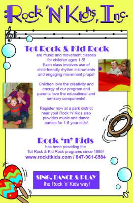 Rock 'n' Kids, Inc. Magazine Advertisement
