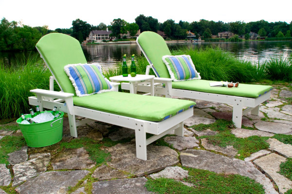 Adirondack Chaise Lounges