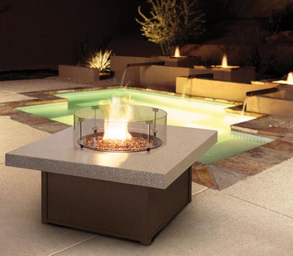 Aurora Fire Table