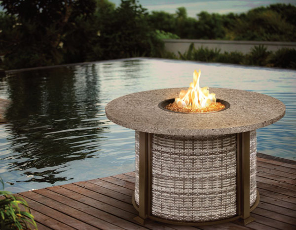 Valero Fire Table Woven Side Panels