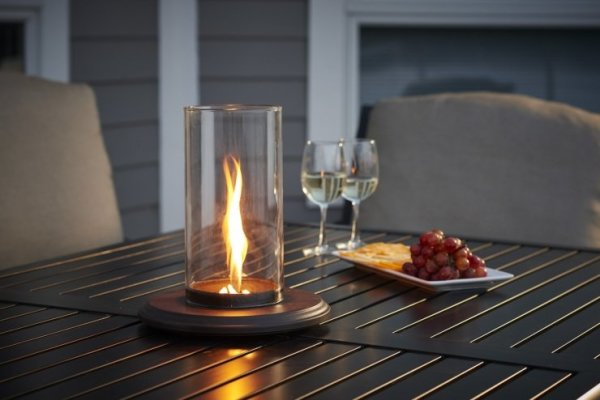 Intrigue Tabletop Outdoor Lantern