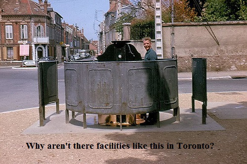 Why Aren't There More Public Places for People to Pee? & Another Visit to the Food Bank