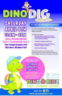 DINO DIG for Kerry's Place Autism Services