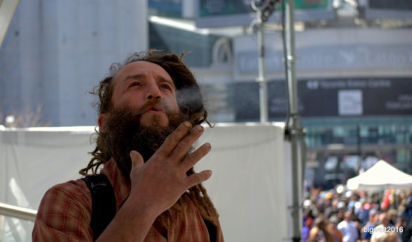 420 Celebration, Yonge Dundas Square