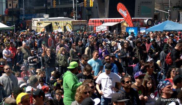 420 Celebration, Yonge Dundas Square