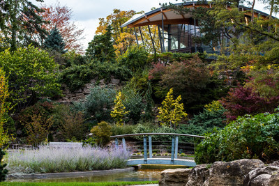 Royal Botanical Gardens celebrates  David Braley and Nancy Gordon Rock Garden