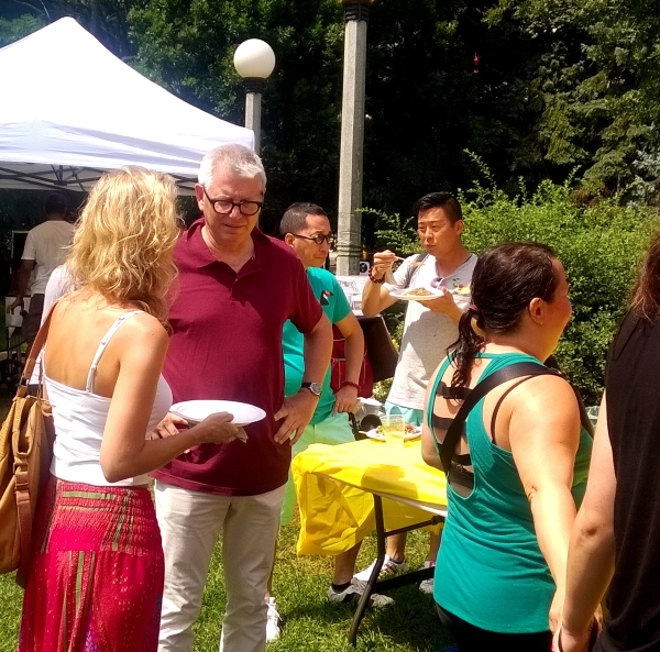 MP Adam Vaughan Hosts Picnic At Little Norway Park
