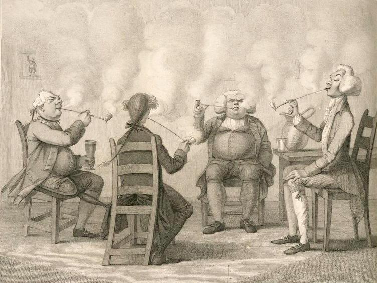 Eat Like a Pauper, But Smoke Like a King at the Food Bank