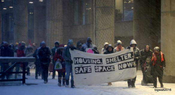 OCAP, Rally & March for Homeless Shelters