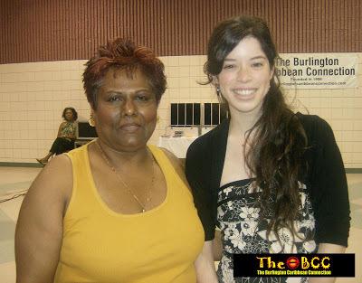 Ancilla Ho-Young and scholarship recipient Krysia Walchak