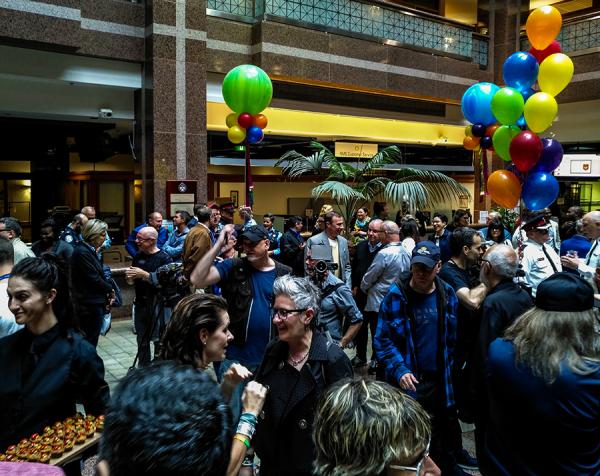Toronto Police Hold Pride Reception Tuesday Evening