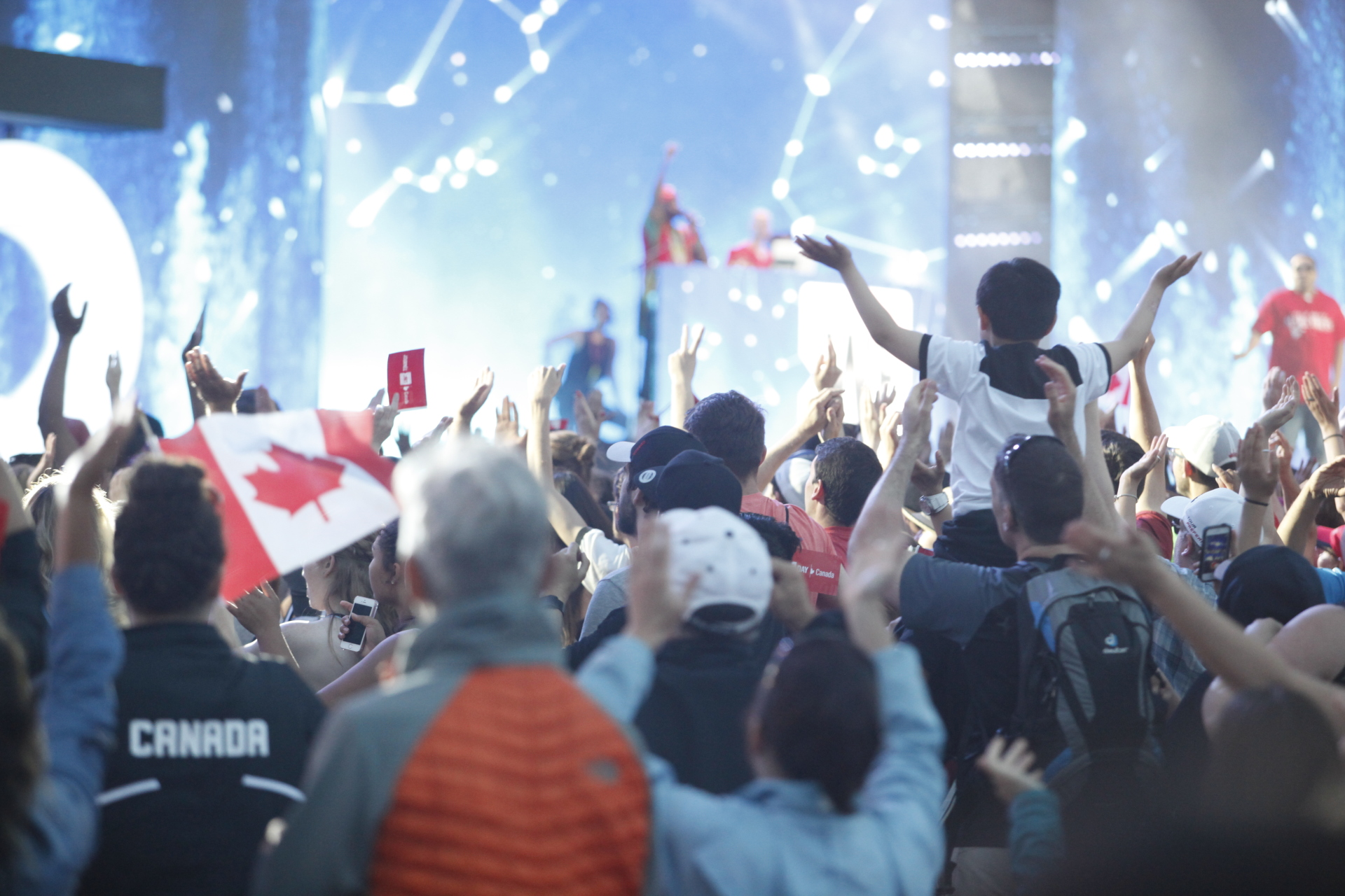 WE Day Closes out Canada Day Weekend Celebrations on Parliament Hill