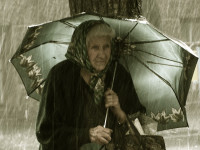 Food Bank Adventures: Old Woman in the Rain