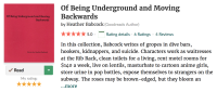 Review of Heather Babcock's 'Of Being Underground and Moving Backwards'