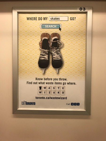 Skate Charity Disappointed by City Of Toronto Subway Advertisement