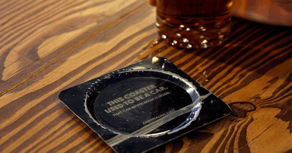 Coasters Made From Real Car Wrecks Serve Sobering Reminder For St. Patrick's Day