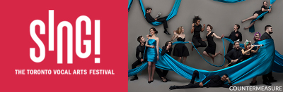 SING! THE TORONTO VOCAL ARTS FESTIVAL RETURNS MAY 23 TO JUNE 3, 2018
