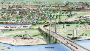 Gordie Howe International Bridge Begins