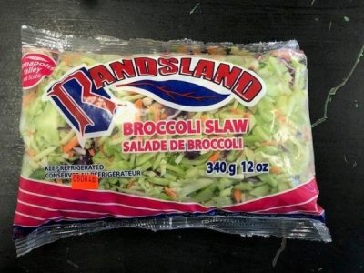 Randsland brand Broccoli Slaw recalled due to Listeria monocytogenes