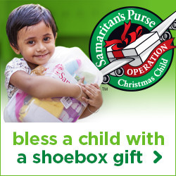 Canadians invited to bless children in need with Operation Christmas Child shoebox gifts