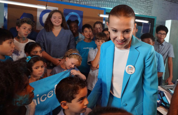Millie Bobby Brown named UNICEF's youngest-ever Goodwill Ambassador