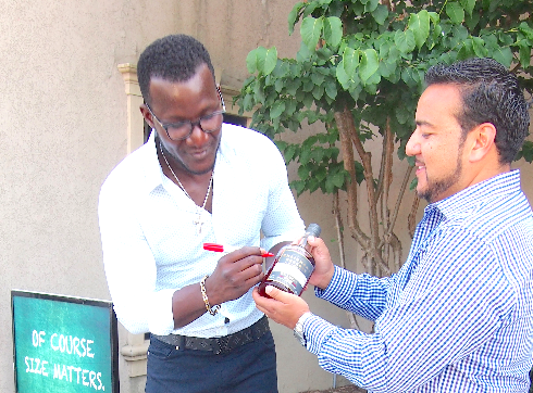 Darren Sammy promotes St Lucia Tourism in Toronto
