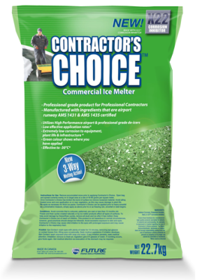 Contractor's choice ice melter
