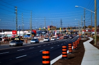 Thickson Road Construction