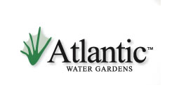 atlantic water gardens pond logo