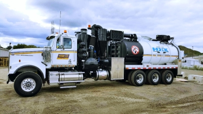 Hydrovac Truck Construction Equipment