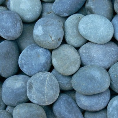 Mexican Black Beach Pebbles