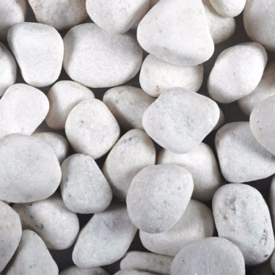 Ornate White Pebbles
