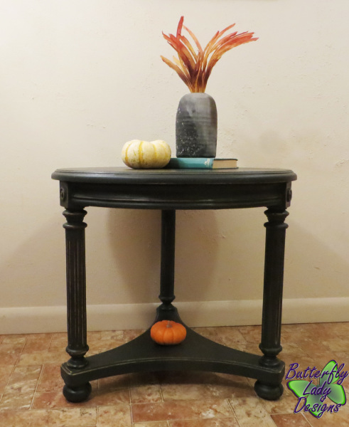 Round Side Table - SOLD