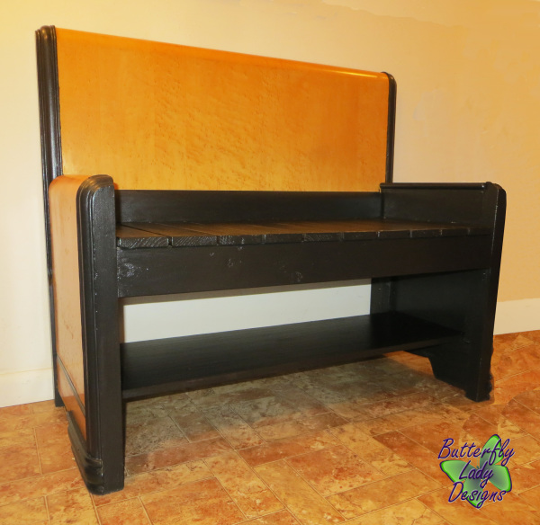Twin Size Headboard Bench - SOLD