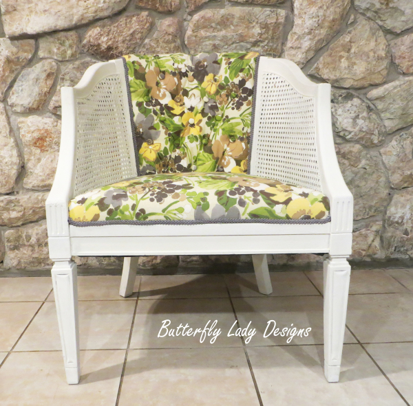 Upholstered Tub Chair - SOLD