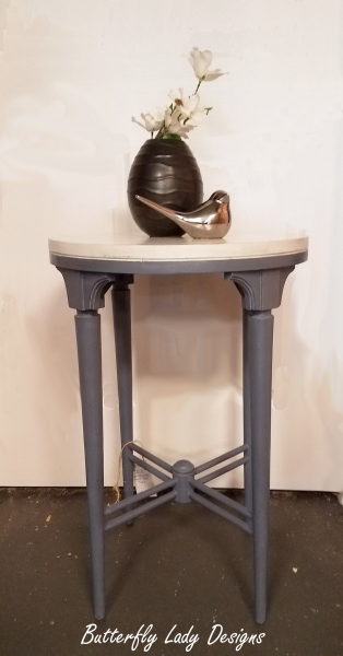 Round End Table - SOLD