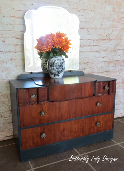 1950's Dresser with Mirror - SOLD