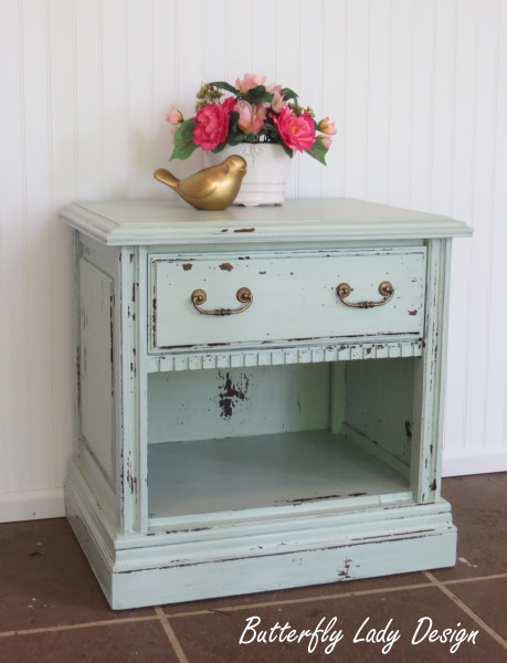 Chippy Mint End Table - SOLD