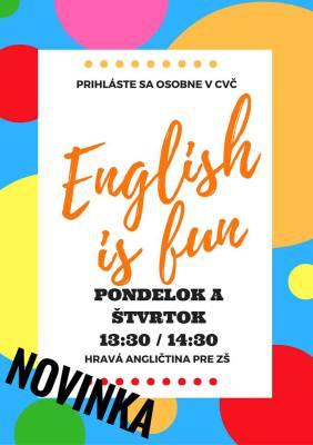 english is fun, anglictina pre deti, angličtina pre deti komárno