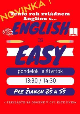 angličtina pre deti, anglictina pre deti komarno, english is easy