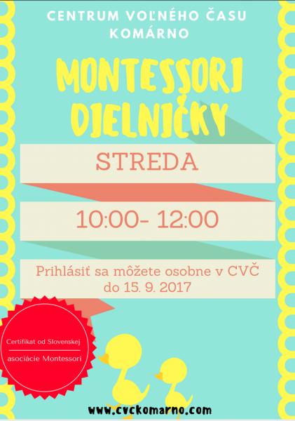 montessori komárno, montessori dieľničky, montessori pre deti
