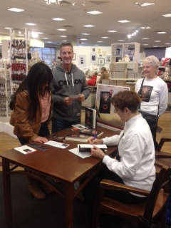 Chapters book signing event