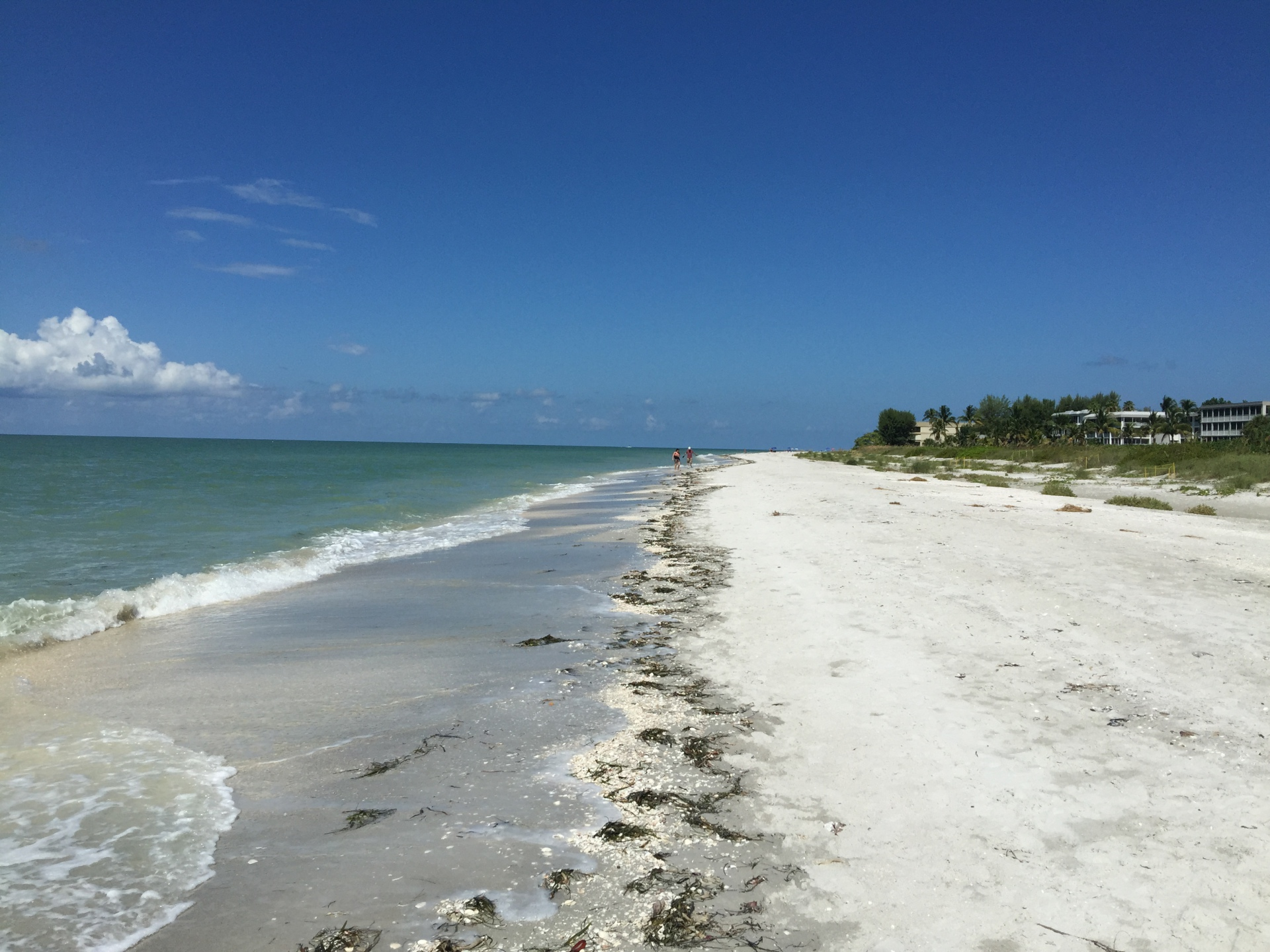 The beach by the condo