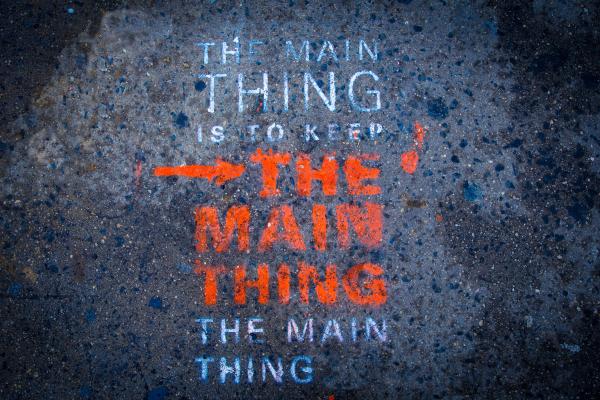 Main Thing