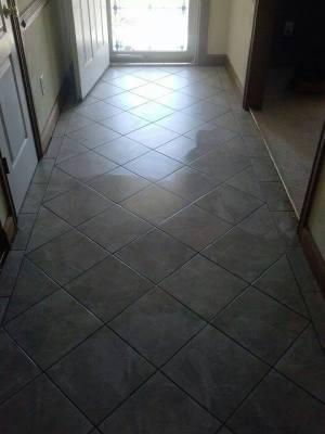Diamond Pattern Entrance Hall