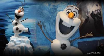 Olaf Statue