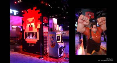 E3 Wreck-It Ralph Display