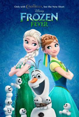 Frozen Fever Key Art